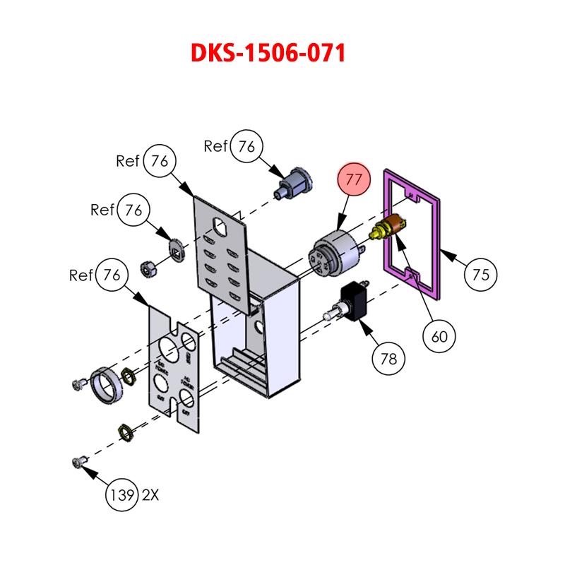 doorking 6050 1506 071 tone generator loud