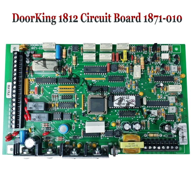 doorking 1812 circuit board 1871 010 doorking circuit board for arm barrier gate doorking 1601, 1602, 1603 doorking 1812 wiring diagram at gsmx.co