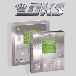 Doorking 1837 089 Wall Mount Hands Free telephone entry system