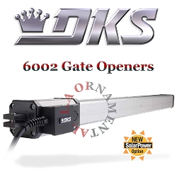 Doorking 6002 Swing Gate Actuator Light Residential Screw Gate Opener