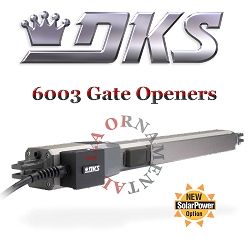 DoorKing 6003 Residential Swing Gate Actuator Double Arm Gate Opener