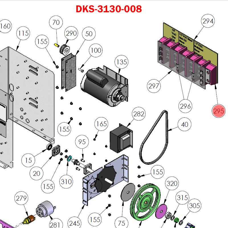 Doorking 9070 3130 008 Terminal Block 5 Pin