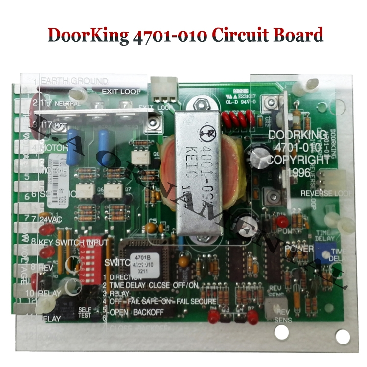 Doorking 4701 010 Circuit Board Doorking 4701 010 Control