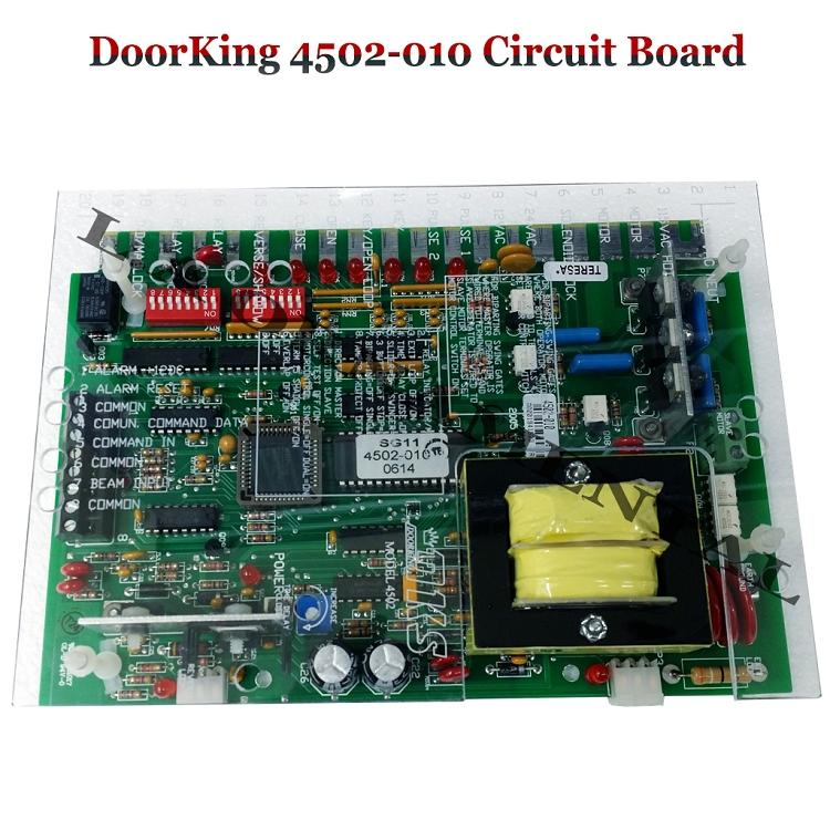 Doorking 4502 010 Control Board Doorking 4502 010 Circuit