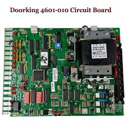 Doorking 4601-010 Circuit Board, Doorking 4601-010 Control Board