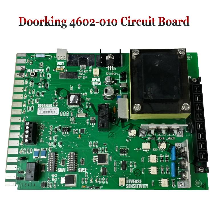 Doorking 4602 010 Circuit Board Doorking 4602 010 Control