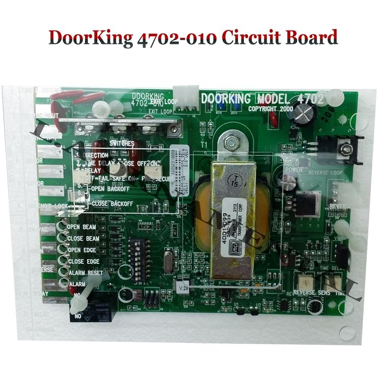 Doorking 4702 010 Control Board Doorking 4702 010 Circuit