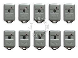 Doorking 8066-083 MicroClik PROXmitters with HID Proximity Tag 1 Button 10 pkg