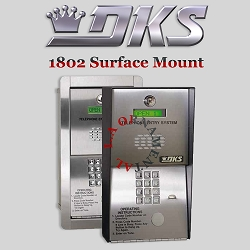 Doorking 1802 091 Flush Mount, Hands Free - DKS 1802 EPD