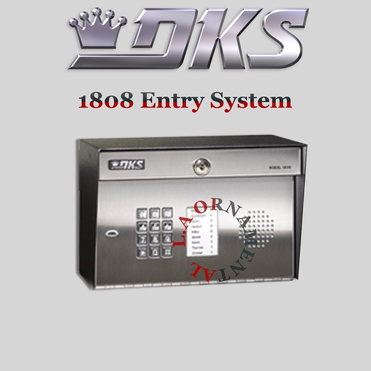 Doorking 1808 082 Surface Mount Hands Free With Directory