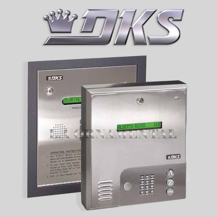 Doorking 1834 089 125 Memory Wall Mount Access Control