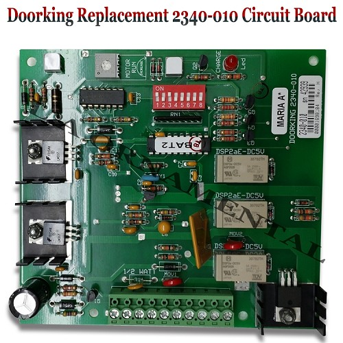 Doorking 2340-010 / 1473-121 Circuit Board, Convenience Open DC drive System Circuit Board