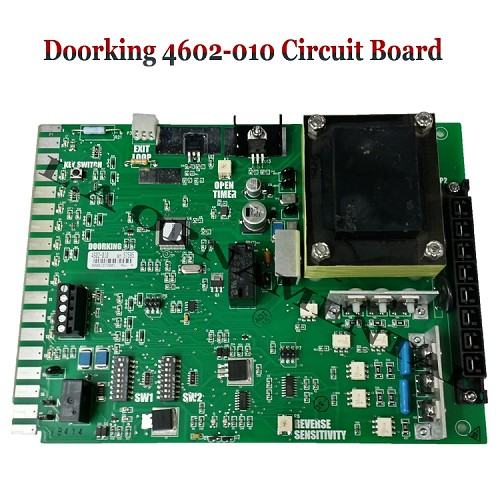 Doorking 4602-010 Circuit Board, Doorking 4602-010 Control Board