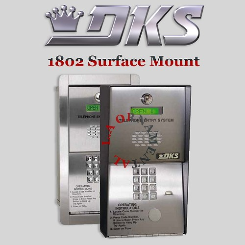 Doorking 1802 090 Surface Mount, Hands Free - DKS 1802 EPD