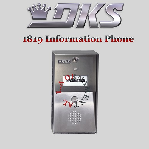 Doorking 1819-080 Single Telephone Number System